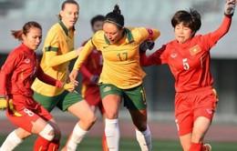ĐT nữ Việt Nam thua 9 bàn không gỡ trước Australia