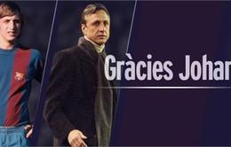 Barcelona sẽ tri ân Johan Cruyff trong trận El Clasico