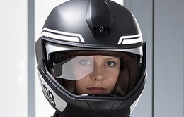 BMW trình diễn ý tưởng mũ bảo hiểm thông minh tích hợp công nghệ HUD