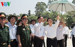 Chủ tịch nước thăm Khu di tích Trung ương Cục miền Nam