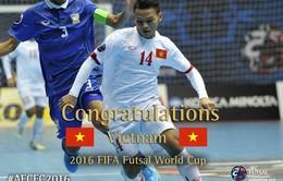 Ngày 19/5: Lộ diện đối thủ của ĐT futsal Việt Nam ở vòng bảng World Cup