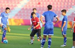 U23 Việt Nam trở lại tập luyện sau trận thua trước U23 Australia