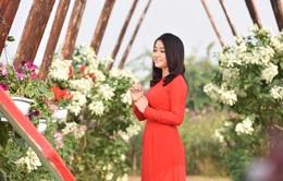 Á quân Sao mai Đinh Trang ra album nhạc dân gian