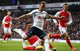 Tottenham - Arsenal: Bước ngoặt của cuộc đua vô địch (19h45, K+1)