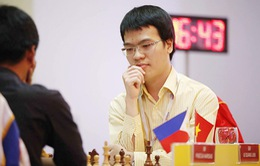 Bảng xếp hạng tháng 1-2016 của liên đoàn cờ vua thế giới: Quang Liêm xuống hạng 33