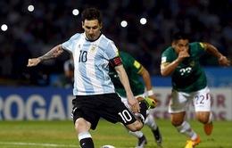 Messi ghi bàn thứ 50, tiến gần kỉ lục mọi thời đại của ĐT Argentina