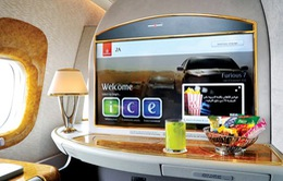 Tiện ích 5 sao của những chiếc ghế máy bay