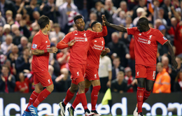 Sturridge ghi dấu ấn, Liverpool thắng dễ Everton