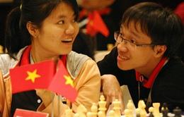 Chuyện tình đẹp của cặp đôi vàng cờ vua Việt Nam