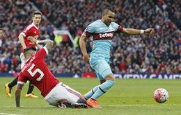 West Ham - Man Utd: Vận mệnh trong tay (1h45', 11/05)