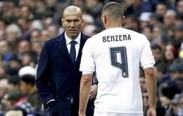 Zidane vẫn một mực ủng hộ Benzema lên tuyển