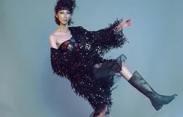 """Cao Ngân Next Top Model """"nổi loạn"""" với phong cách thập niên 70"""