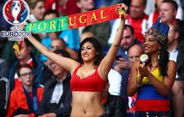 CĐV Bồ Đào Nha hâm nóng các khán đài EURO 2016