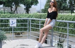 Lily Nguyễn khoe street style quyến rũ