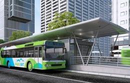 Chạy thử nghiệm kỹ thuật cho tuyến xe bus nhanh
