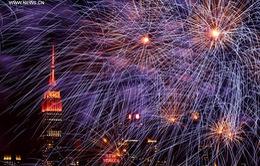 Rực rỡ pháo hoa mừng năm mới Bính Thân 2016 tại New York