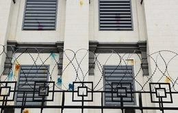Đại sứ quán Nga tại Kiev bị tấn công