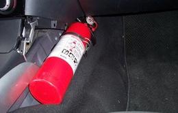Ô tô bắt buộc phải trang bị phương tiện phòng cháy, chữa cháy