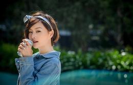 Diễn viên Lan Phương thử sức với 8 IELTS