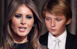 Vợ Donald Trump tức giận vì con trai bị gọi là tự kỷ