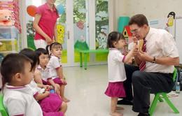 Bắc Ninh: Thí điểm cho trẻ mầm non làm quen với tiếng Anh