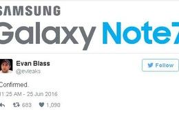 Galaxy Note 7 sẽ có phiên bản bộ nhớ tối thiểu là 64GB?