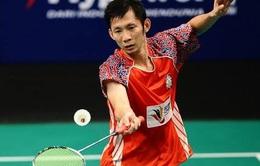 Tiến Minh ngược dòng hạ tay vợt Trung Quốc ở tứ kết New Zealand Open