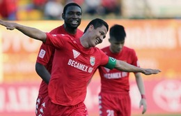 B.Bình Dương, SHB Đà Nẵng khởi đầu V.League 2016 với 3 điểm trọn vẹn