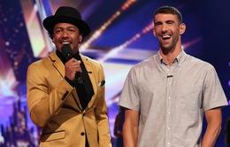 Kình ngư Michael Phelps bất ngờ xuất hiện ở America's Got Talent