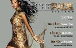 The Face Việt Nam tổ chức tuyển sinh tại Hà Nội vào 23/4