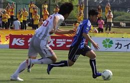 Công Phượng ra mắt J.League, Mito Hollyhock hòa hú vía ở phút 90+4