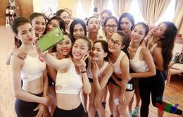 Những phút giây tươi hết cỡ của người đẹp Hoa hậu Biển Việt Nam 2016