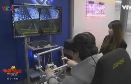 Chơi game thực tế ảo ngay tại quán cà phê