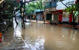Hà Nội: Nhiều tuyến đường ngập lụt trong đêm 18/8 do ảnh hưởng từ cơn bão số 3
