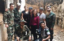 """""""Phóng viên VTV24 ba lần đối mặt với cái chết để viết nên Ký sự Syria"""""""