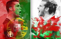 Trước trận bán kết EURO 2016, Bồ Đào Nha – Xứ Wales: Bale hay Ronaldo sẽ toả sáng?!