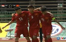 [KT] U16 Việt Nam 3-0 U16 Singapore: 3 điểm dễ dàng!