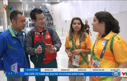 Đoàn phóng viên VTV tác nghiệp Olympic 2016 đã có mặt tại TP Rio de Janeiro
