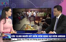 Hình ảnh bản tin Thời sự VTV bị chỉnh sửa để lừa đảo
