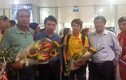 VIDEO: ĐT bóng đá nữ Việt Nam trở về với HCB Đông Nam Á