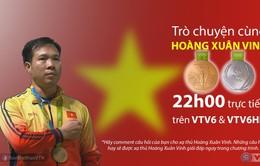 Bản tin 360 độ Thể thao đặc biệt về xạ thủ Hoàng Xuân Vinh (20h00, 15/8 trên VTV6)