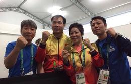 Tâm sự vỡ òa của người thầy Hoàng Xuân Vinh sau tấm HCV Olympic lịch sử
