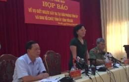 Đối tượng bắn Bí thư và Chủ tịch HĐND tỉnh Yên Bái tử vong, không khởi tố vụ án