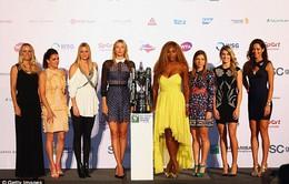 Quần vợt nữ 2016: Serena tiếp tục thống trị hay may mắn đứng về Masha?