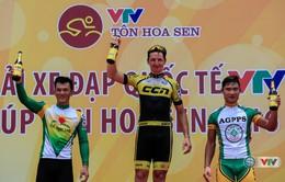 Chặng 3 giải xe đạp quốc tế VTV Cúp Tôn Hoa Sen 2016: Jos Koop về nhất chặng!