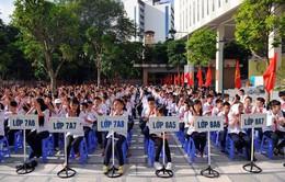 Hà Nội: Trường quá đông, học sinh chỉ học 1 buổi/ngày