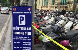Công an Hà Nội triển khai 27 điểm trông giữ xe quanh phố đi bộ