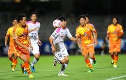 Công Phượng rời sân ở hiệp 1, Mito Hollyhock bị loại khỏi Cúp Hoàng đế