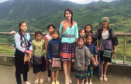 Hoa hậu Mỹ Linh chịu khổ làm MC truyền hình