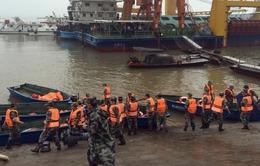 Chìm tàu du lịch tại Trung Quốc, hàng chục người mất tích